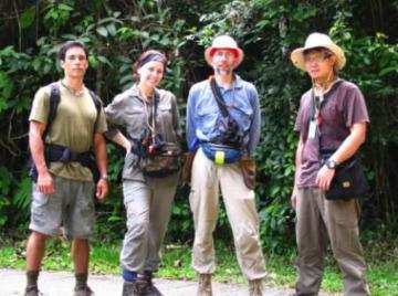 Spiders in Borneo – Team Salticid
