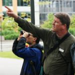 Birding with the Director