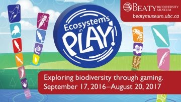 Ecosystems in Play Opens September 17