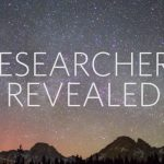 "the words ""researchers revealed"" over a starry night sky"